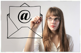 email for website traffic